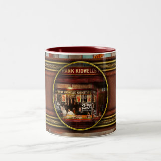 Butcher - Meat priced right 1916 Two-Tone Coffee Mug