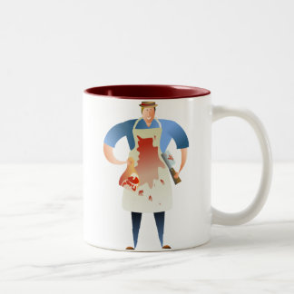 Butcher Two-Tone Coffee Mug