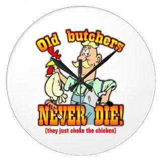 Butchers Large Clock