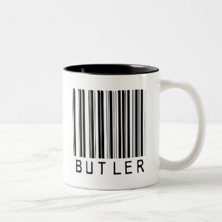 Butler Bar Code Two-Tone Coffee Mug