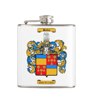 Butler (Irish) Hip Flask