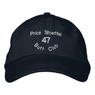 Butt Club Embroidered Hat