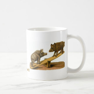 Butt Head Pigs Coffee Mug