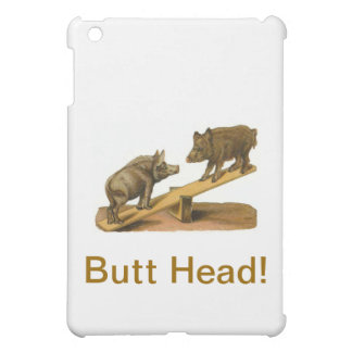 Butt Head Pigs iPad Mini Cover