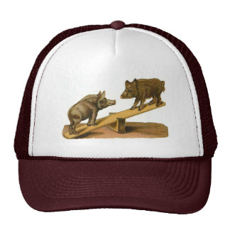Butt Head Pigs Trucker Hat