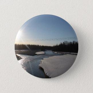 Butte Alaska 2 Inch Round Button