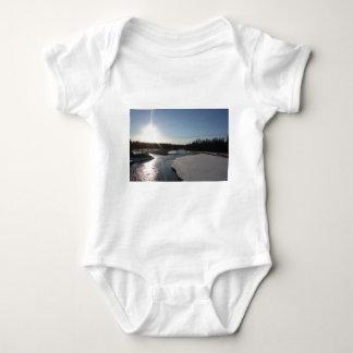 Butte Alaska Baby Bodysuit