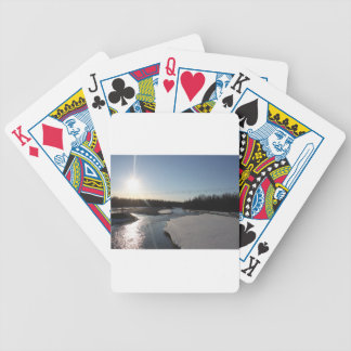 Butte Alaska Bicycle Playing Cards