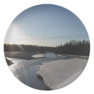 Butte Alaska Plate