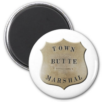 Butte Town Marshal Magnet