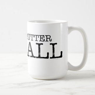 Butter Ball Turkey Classic White Coffee Mug