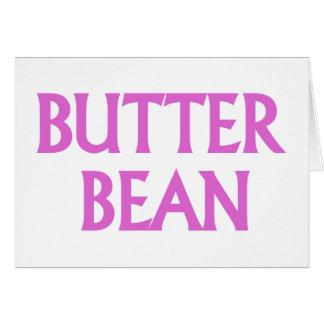 Butter Bean Greeting Card