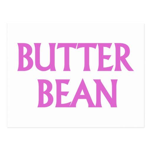 Butter Bean Post Card