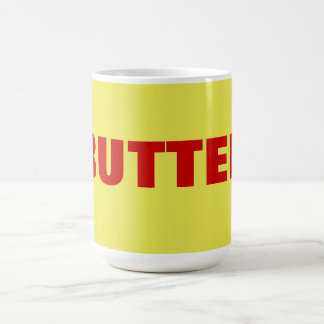 butter classic white coffee mug