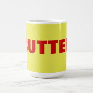 butter classic white coffee mug