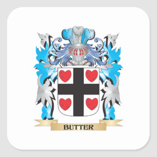 Butter Coat of Arms Stickers