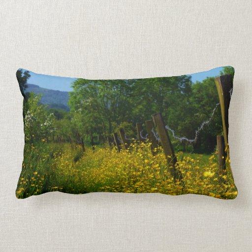 Butter Cup Field Pillow