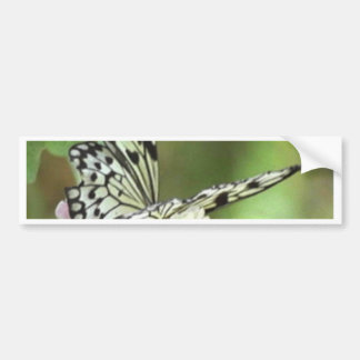 BUTTER FLY BUMPER STICKER