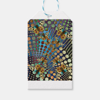 BUTTER;FLY KALEIDOSCOPE GIFT TAGS