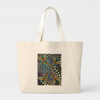 BUTTER;FLY KALEIDOSCOPE LARGE TOTE BAG