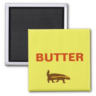 butter honey badger fridge magnets