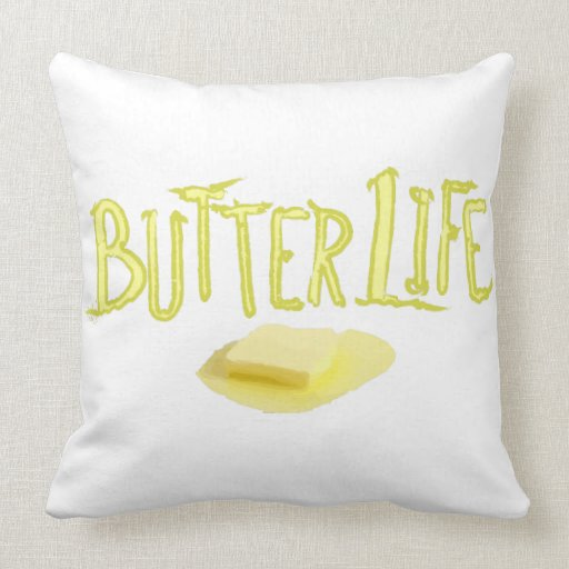 Butter Life Pillow