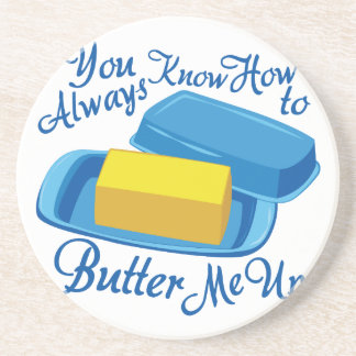 Butter Me Up Beverage Coasters