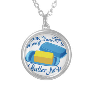 Butter Me Up Silver Plated Necklace