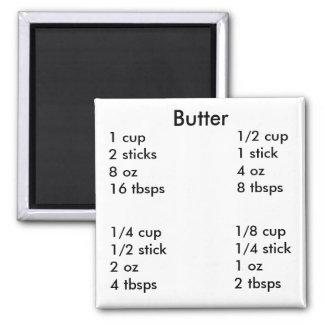 Butter measurements magnet