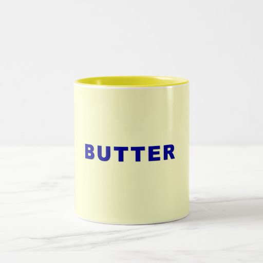 Butter Coffee Mugs