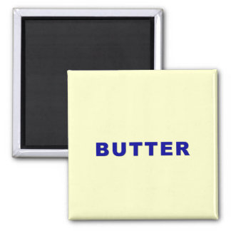 Butter Square Magnet