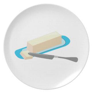 Butter Stick Dinner Plates