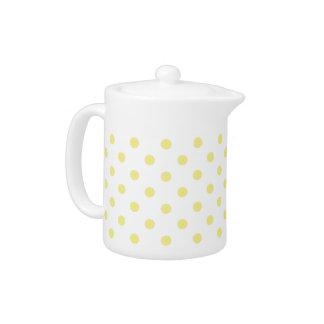 Butter Yellow Polka Dot