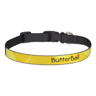 ButterBall Pet Monogram Pet Collar