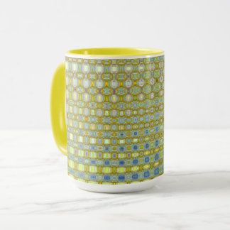 Buttercup & Bleu Combo Mug by Artist C.L. Brown