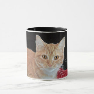 Buttercup - Drawing of Orange Tabby Mug