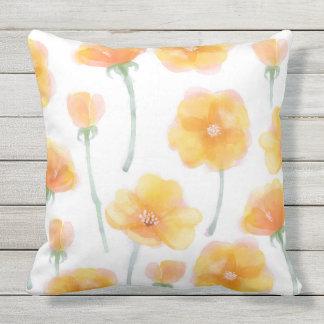 Buttercup Field Outdoor Pillow