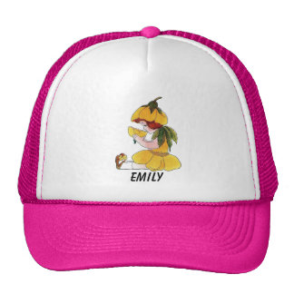 Buttercup Flower Child Funny Cute Little Girl Trucker Hat