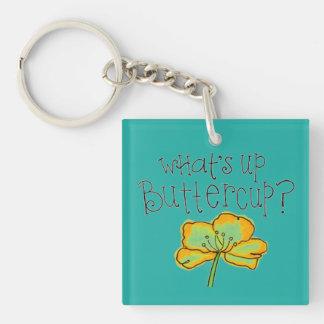 Buttercup Keychain