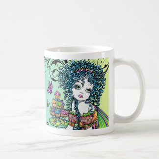 """Buttercup"" & ""Lyra"" Rainbow Fairy Art Mug"