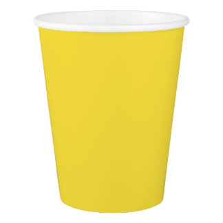 Buttercup Paper Cup