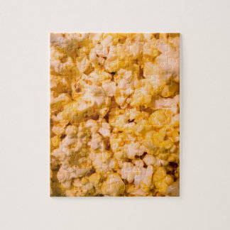 Buttered Popcorn Jigsaw Puzzle