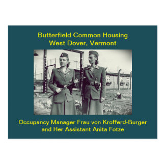 Butterfield Housing Humor: Postcards