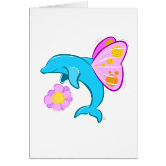 Butterfin Greeting Card