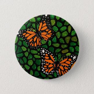 butterflies 2 inch round button