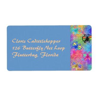 Butterflies Address Label...