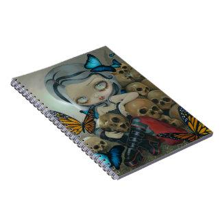"""Butterflies and Bones"" Notebook"