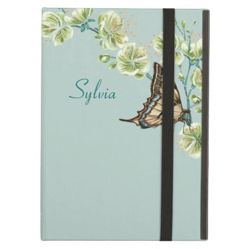 Butterflies and Cherry Blossoms iPad Folio Cases