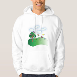 Butterflies and Dragonflies Hoodies