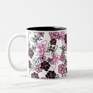 Butterflies and Flowers Mug